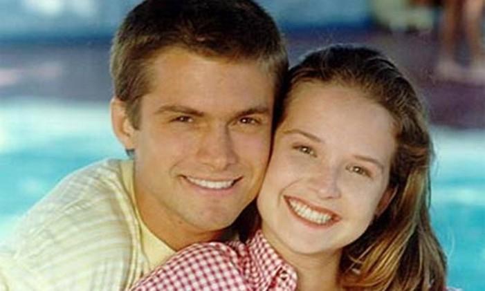 Dado (Cláudio Heinrich) e Luiza (Fernanda Rodrigues), o casal de protagonistas da segunda temporada de 'Malhação' Foto: Divulgação