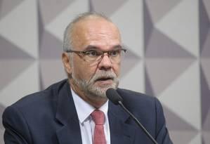 O ex-secretário executivo do Ministério da Educação, Luiz Claudio Costa Foto: Pedro França/Agência Senado