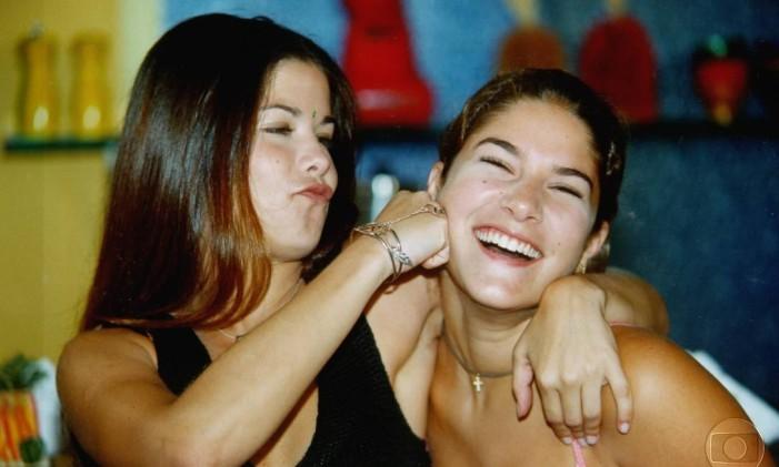 Erika (Samara Felippo) e Tati (Priscila Fantin) em 'Malhação' Foto: Divulgação