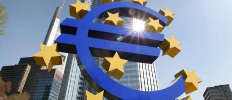 O Banco Central Europeu em Frankfurt na Alemanha. Foto: DANIEL ROLAND / AFP