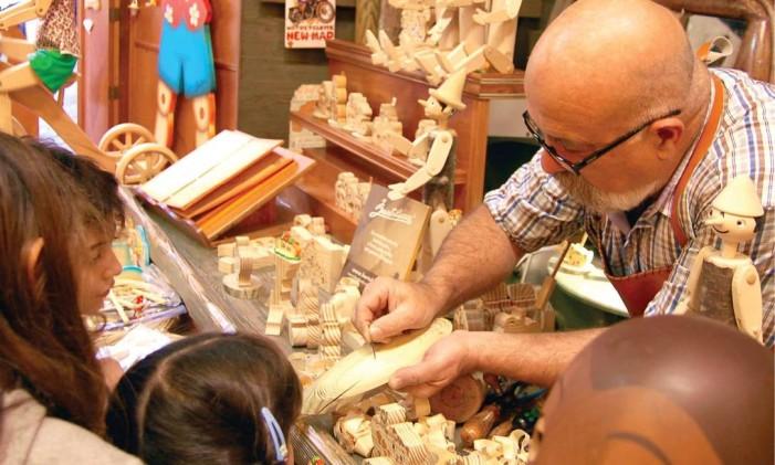 A loja Bartolucci, em Roma Foto: Bartolucci/Comissão Europeia de Turismo/Divulgação