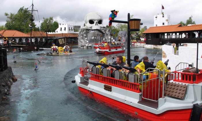Legoland em Billund, Dinamarca Foto: Eduardo Maia / Agência O Globo