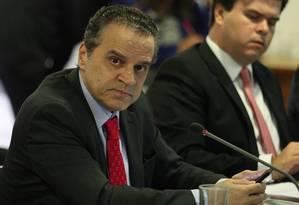 O ex-ministro do Turismo Henrique Alves Foto: Andre Coelho / Agência O Globo / 6-6-2016