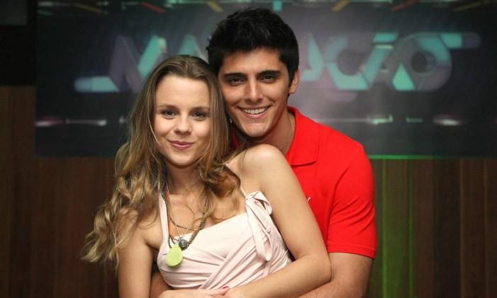 Bruno Gissoni e Daniela Carvalho protagonizaram a 'Malhação' de 2011 Foto: Cléber Júnior / Agência O Globo