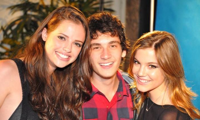 Agatha Moreira, Guilherme Prates e Alice Wegmann Foto: Darlei Marinho / Agência O Globo