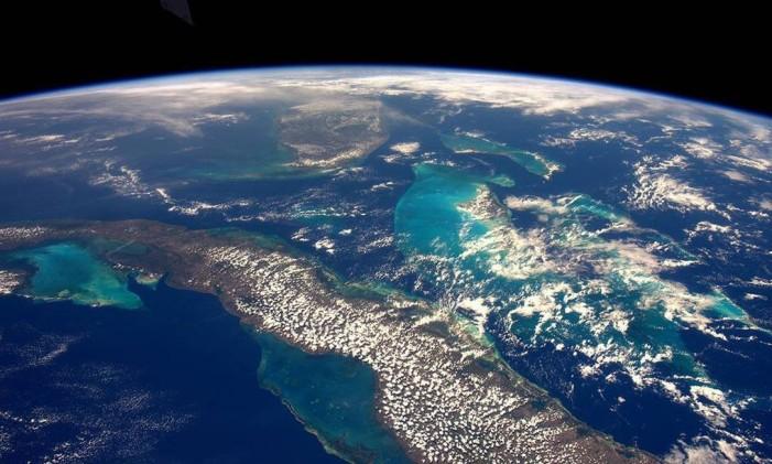 Cuba, Florida e as Bahamas Foto: TIM PEAKE/ESA/NASA