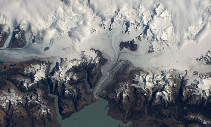 Patagônia Foto: TIM PEAKE/ESA/NASA