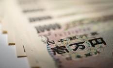 Notas de mil iens Foto: Bloomberg