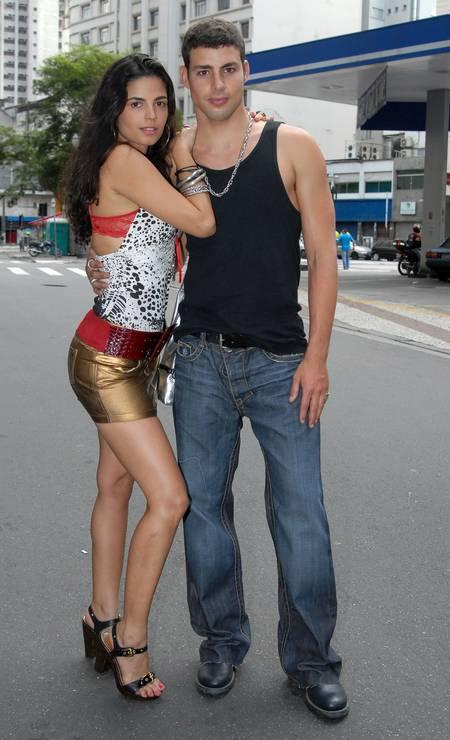 Com Emanuelle Araújo em 'A favorita' (2008), um dos trabalhos marcantes da carreira do ator Foto: Divulgação/TV Globo