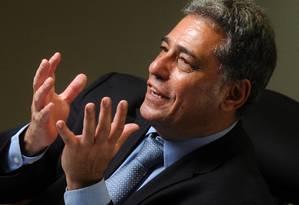 Júlio Bueno pediu cerca de R$ 1 bilhão aos bancos Foto: Leo Pinheiro / Agência O Globo
