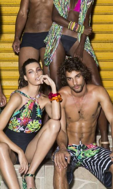 Pablo Morais, de 23 anos, virou a sensação entre as grifes que fazem moda praia. Ele, por exemplo, é um dos astros do verão 2017 da BlueMan Raphael Lucena