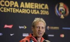 Jurgen Klinsmann: 'Estamos felizes por levar nosso time a Cuba' Foto: Eric Gay / AP