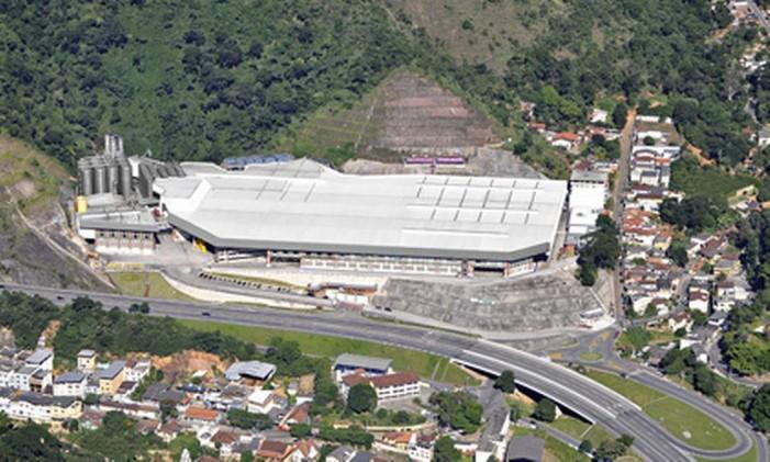 Fábrica do Grupo Petrópolis no estado do Rio Foto: Divulgação