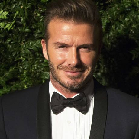 David Beckham recorda momentos em que jogou na Espanha, na Itália e na França Foto: NEIL HALL / Reuters