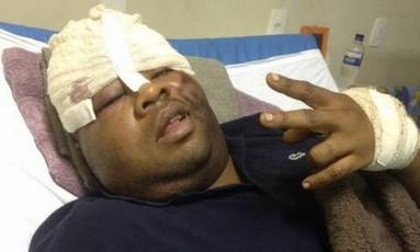 """O traficante conhecido como """"Fat Family"""" foi resgatado do Hospital Souza Aguiar Foto: Reprodução"""