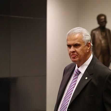 José Carlos Araújo, presidente do Conselho de Ética Foto: Michel Filho / Agência O Globo