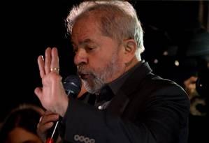 O ex-presidente Luiz Inácio Lula da Silva Foto: Pedro Kirilos / Agência O Globo / 10-6-2016