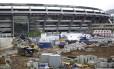 A reconstrução do Maracanã, antes da Copa: o ex-executivo da Andrade Gutierrez disse que o pedido de propina foi feito por Wilson Carlos
