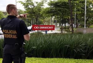 Sistema que controla propinas na Odebrecht funcionou até o mês passado Foto: Edilson Dantas/22-02-2016 / Agência O Globo