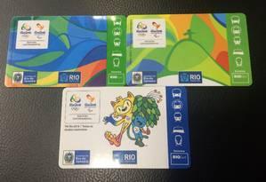 O Riocard dos Jogos Olímpicos Foto: Divulgação