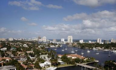 Visão geral de Fort Lauderdale, na Flórida Foto: Divulgação
