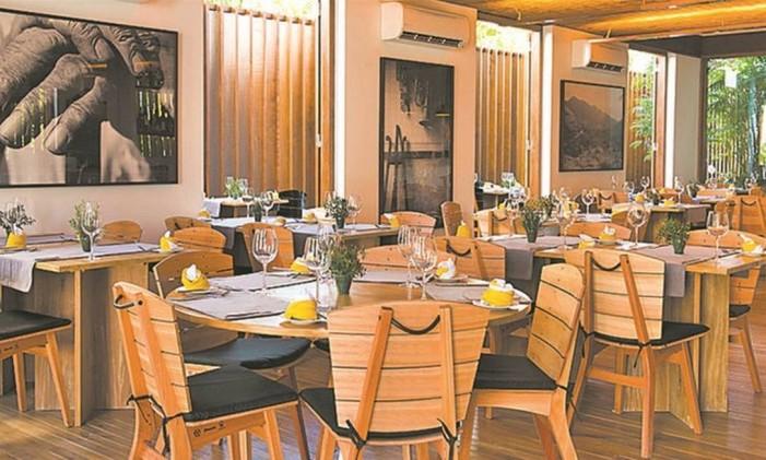 Restaurante Quintal das Letras Foto: SelmyYassuda/Divulgação