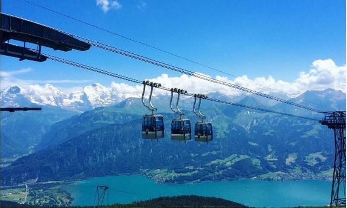 Interlaken, Suiça Foto: Instagram