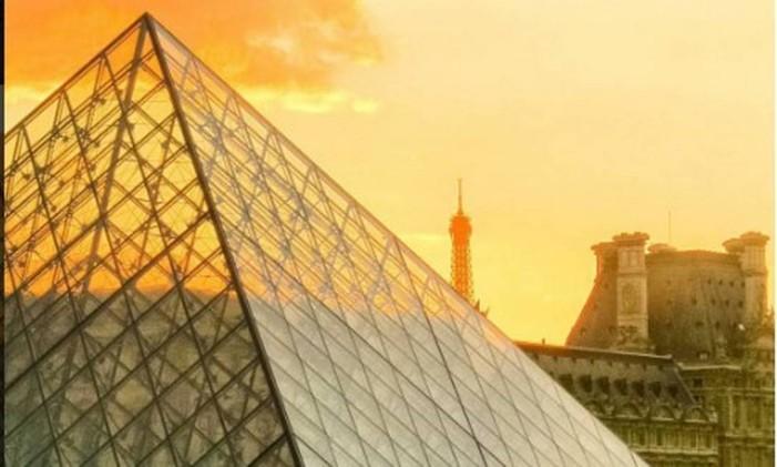 Museu do Louvre - Paris Foto: Instagram