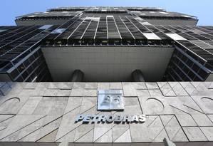 Sede da Petrobras, no Centro do Rio Foto: Carlos Ivan / Agência O Globo