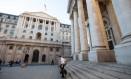 Sede do Bank of England, em Londres Foto: Jason Alden / Bloomberg
