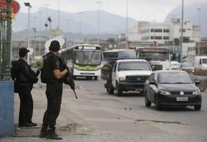 Operação da Polícia Civil na Favela Nova Holanda para encontrar Fat Family Foto: Pablo Jacob / Agência O Globo