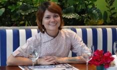 Experiência. A chef Reyka Kiyomi Oliveira já promoveu mudanças no cardápio do restaurante Velero Foto: Gabriela Martins / Divulgação