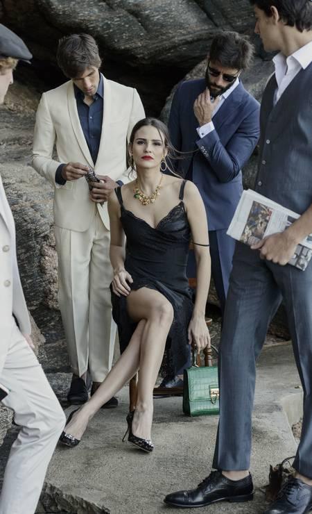 204e6b338c029 Foto  Duda Carvalho Os modelos pre-fall 2016 da Dolce   Gabbana Foto  Duda  Carvalho