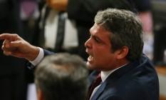 O senador Lindbergh Farias (PT-RJ) Foto: Ailton Freitas / Agência O Globo / 4-5-2016