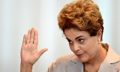 A presidente afastada Dilma Rousseff Foto: Evaristo Sá / AFP / 14-6-2016