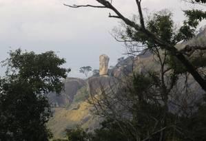 Vista a partir da Pedra do Ponto Foto: Reginaldo Pimenta / Agência O Globo