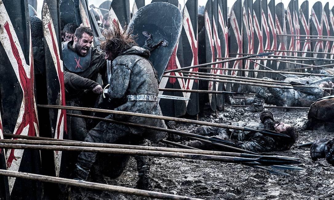 Cena da Batalha dos Bastardos, penúltimo episódio da sexta temporada de 'Game of Thrones' Foto: Divulgação