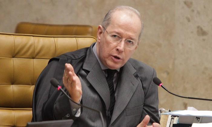 Ministro Celso de Mello, do Supremo Tribunal Federal Foto: André Coelho / Agência O Globo / 7-8-2012
