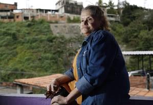 """Derly dos Santos Marins teme ser despejada: """"O aluguel é cobrado. E eu não tenho a quem cobrar"""" Foto: Fabio Rossi / fabio rossi"""
