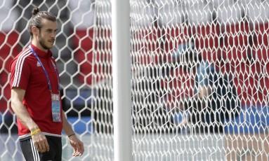 Gareth Bale é a principal esperança galesa para o jogo deste sábado Foto: Petr David Josek / AP