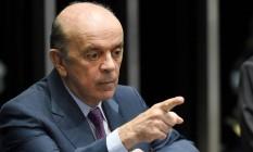 José Serra, ministro das Relações Exteriores Foto: EVARISTO SA / Evaristo Sá/AFP/25-4-2016