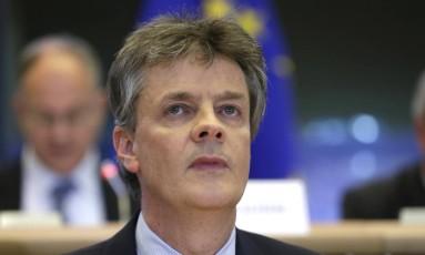 Jonathan Hill, o comissário britânico na UE pediu demissão após resultado do referendo Foto: Yves Logghe / AP