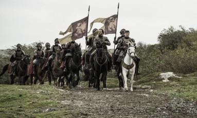 Cena do episódio 10 da sexta temporada de 'Game of thrones' Foto: Divulgação