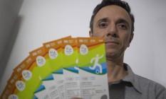 Mauricio Mazzoni se queixa de propaganda enganosa Foto: O Globo / Antonio Scorza
