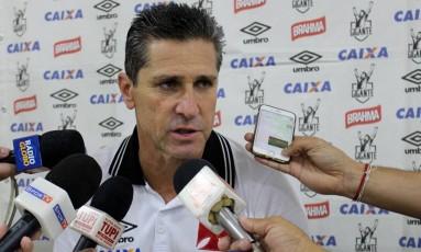 Jorginho quer o time permanentemente focado para não perder a vantagem na Série B Foto: Carlos Gregório Jr/Vasco.com.br