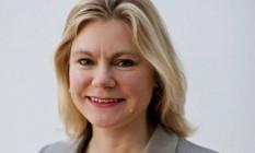 Atitude de Justine Greening foi exaltada por políticos como o premier David Cameron Foto: Reprodução Twitter