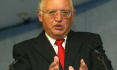 Günter Verheugen foi o responsável pelo ingresso dos países do Leste Europeu na UE Foto: Divulgação