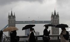 Centro de Londres Foto: ODD ANDERSEN / AFP