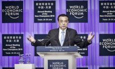 Li Keqiang, primeiro-ministro da China Foto: Qilai Shen / Bloomberg