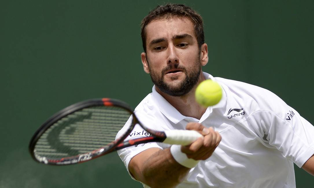 O croata Marin Cilic, algoz do americano Brian Baker, é mais um que segue no torneio TONY O'BRIEN / REUTERS
